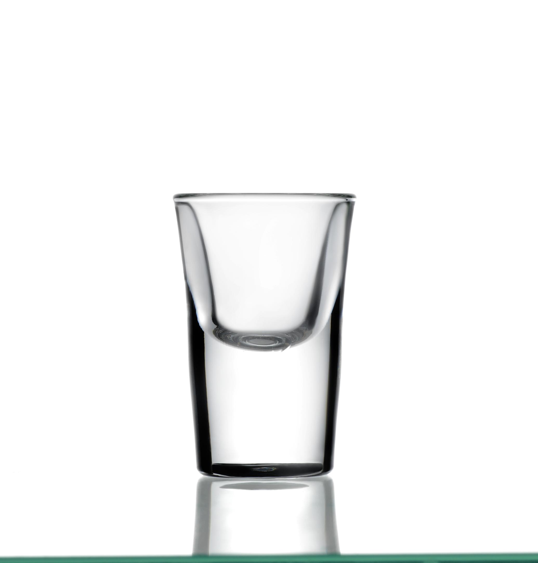Shotglas, Stamper Avenyn. 2,1 cl.