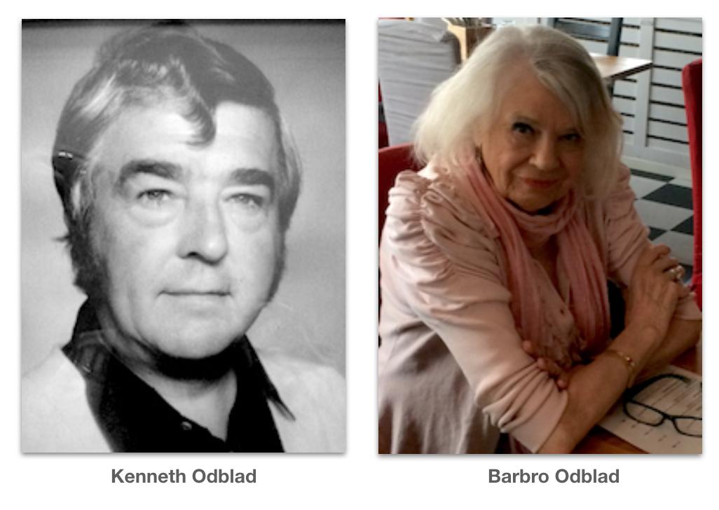 Kenneth och Barbro Odblad