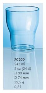 Vatten/on-the-rocks-glas, 24 cl.
