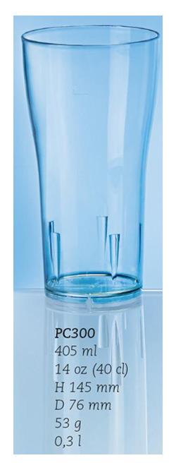 Ölglas/drinkglas, 40 cl.