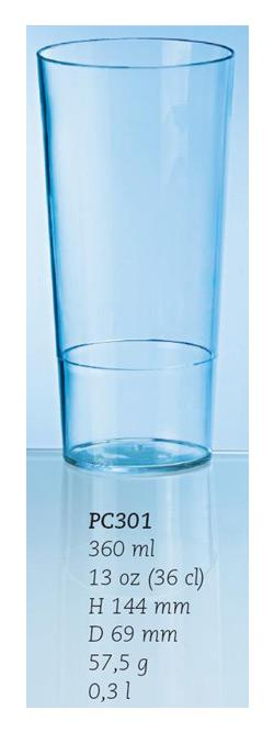 Ölglas/drinkglas, 36 cl.