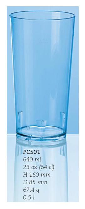 Ölglas/drinkglas, 64 cl.