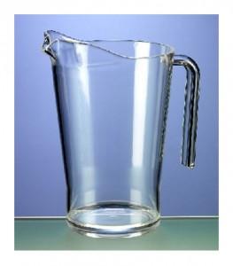 Pitcher, öl eller vatten.