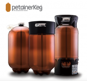 Petainer Kegs and logo